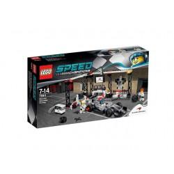 75911 McLaren Mercedes Pit Shop