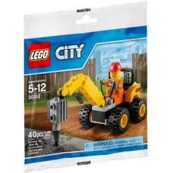 lego 30312 Demolition Driller Polybag 40 pcs